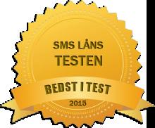 sms låns testen 2015